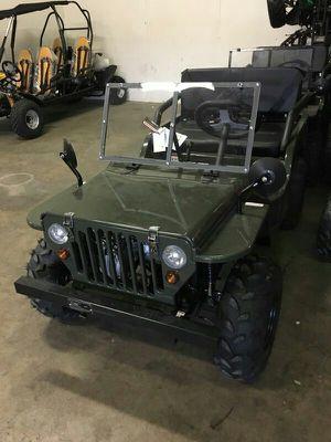 125cc ice bear army Jeep go kart for Sale in Austin, TX