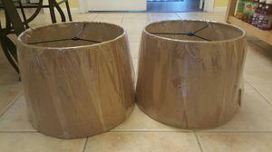 2 lamp shades for Sale in Glen Allen, VA