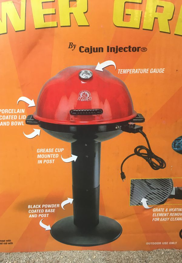 Electric Tower Grill By Cajun Injector