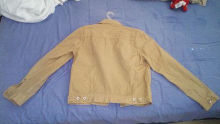 Gap Brown Kaki Jacket Men Medium Size - NEW (Never Used) Thumbnail
