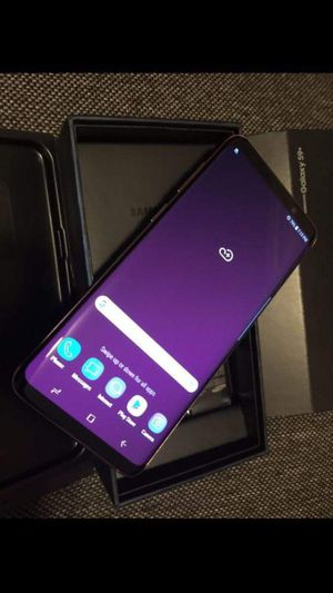 Samsung Galaxy S9 Plus ,Factory Unlocked Excellent Condition,(As Like Almost New) for Sale in Springfield, VA