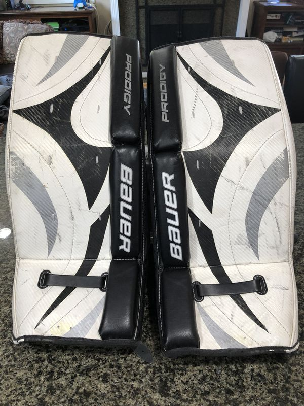 "Bauer prodigy 24"" goalie pads for Sale in Costa Mesa, CA - OfferUp"
