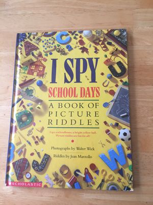 I Soy School Days - A Book of Picture Riddles for Sale in Poolesville, MD