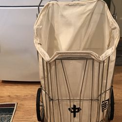 Vintage Grocery Cart With Postal Liner Thumbnail