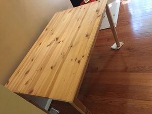 IKEA hardwood big table 90%new for Sale in Herndon, VA