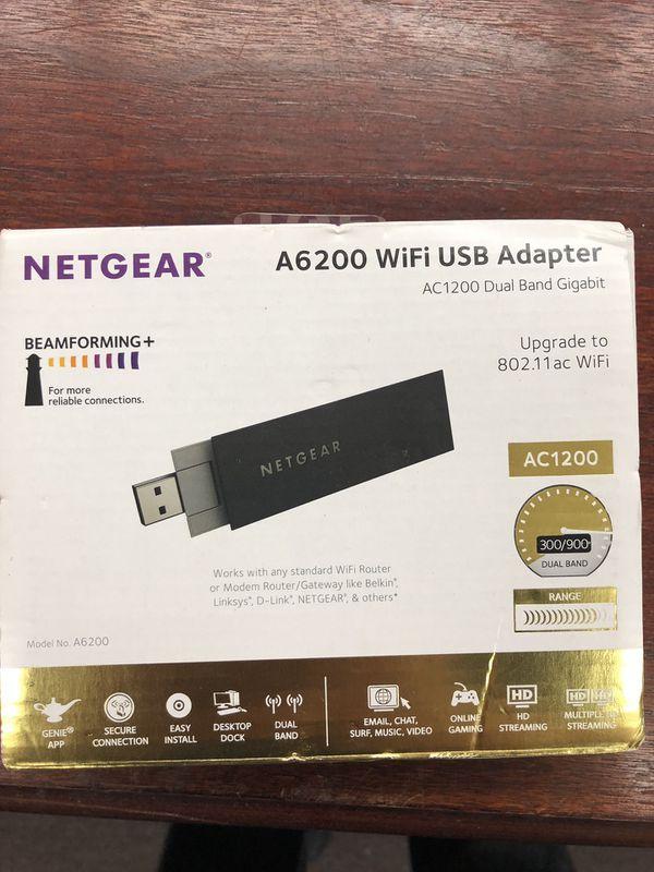 NETGEAR A6200 WiFi USB Adapter for Sale in St  Cloud, FL - OfferUp