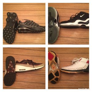 Shoes men's Nikes and Jordan's for Sale in Richmond, VA