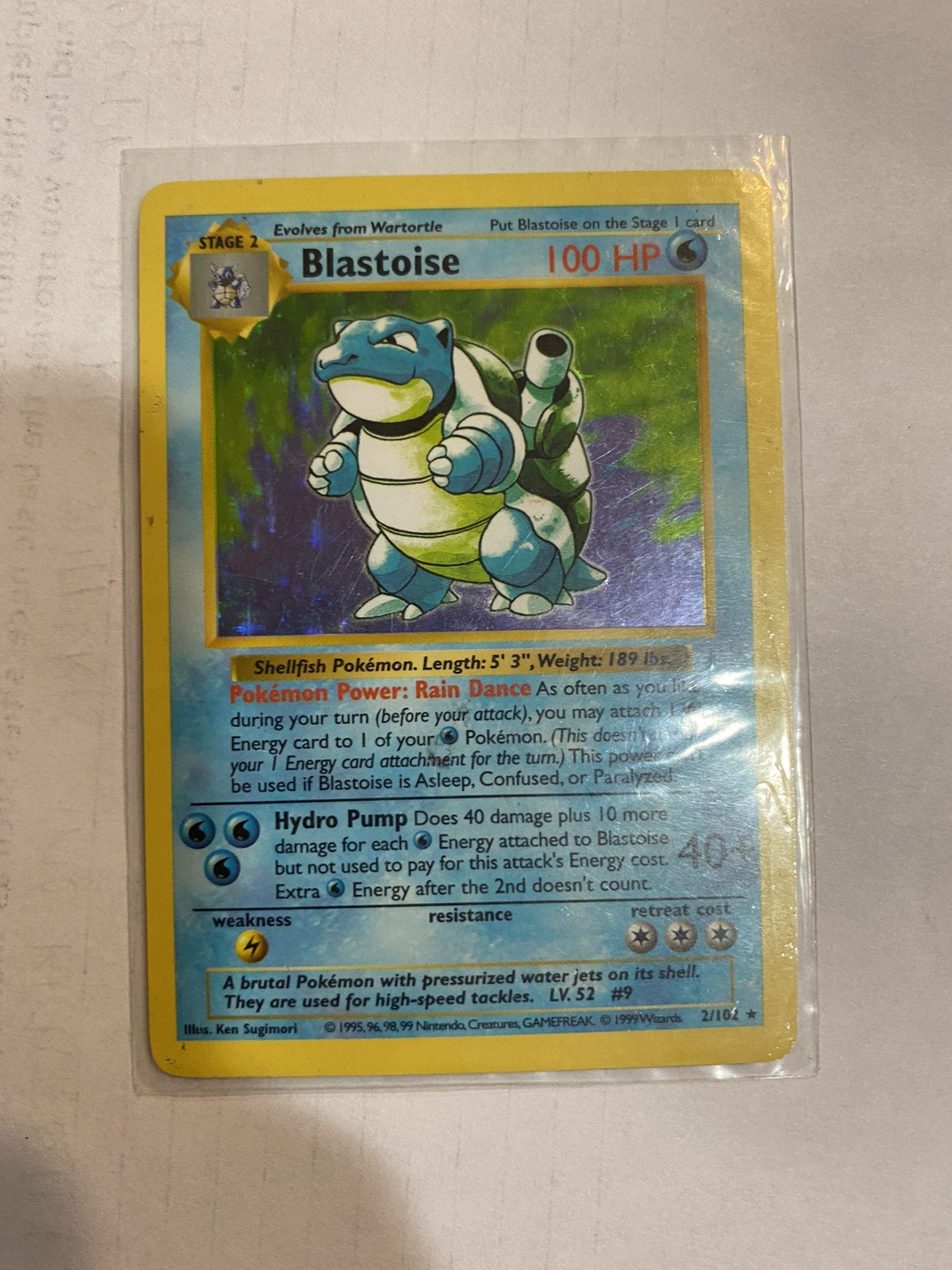 Blastoise Holo