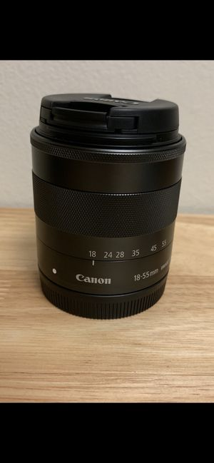 Canon Ef-M 18-55mm F/3.5-5.6 Is STM Lens for Sale in Schaumburg, IL