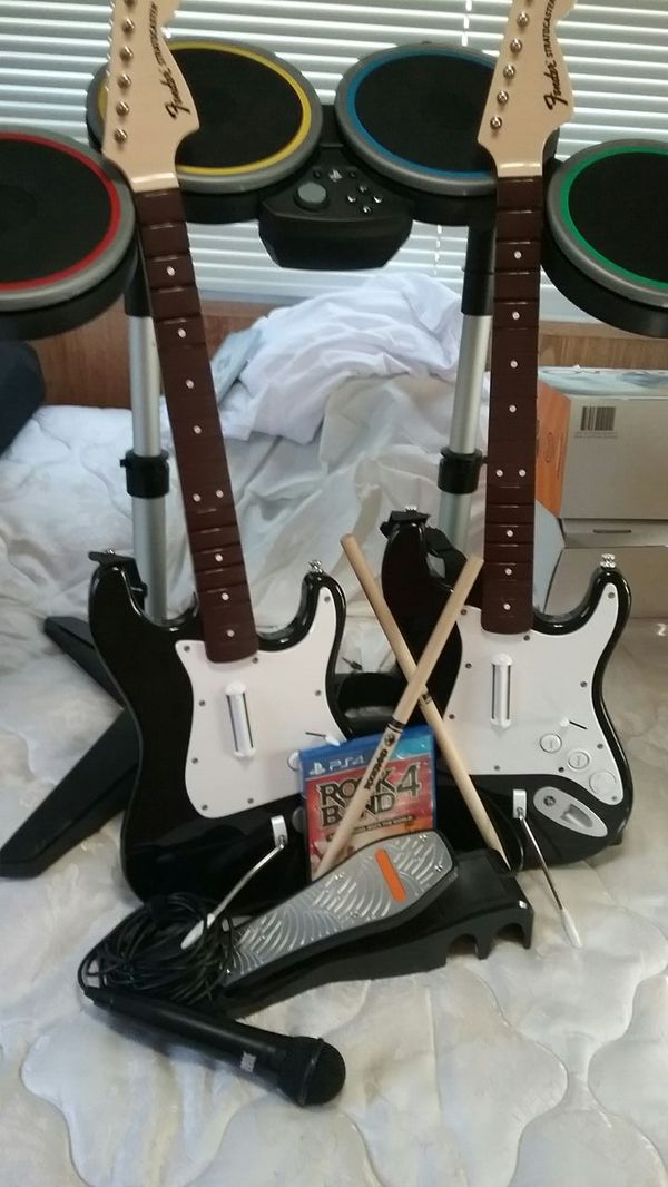 Ps4 rock band bundle for Sale in Perris, CA - OfferUp