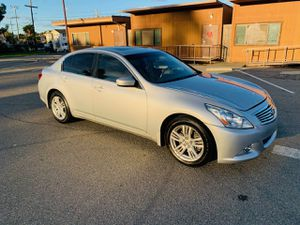 Photo 2013 INFINITI G37X FULLY LOADED V6 ONLY 90K SALVAGE TITLE