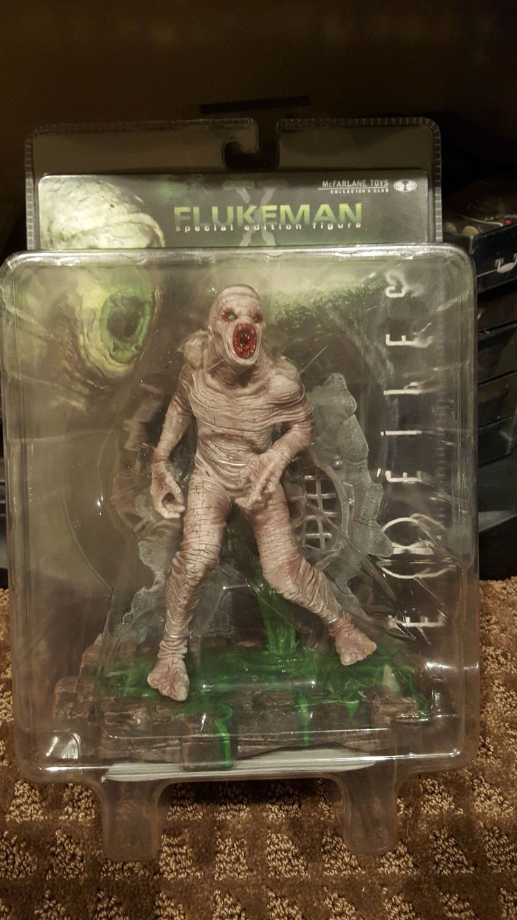 McFarlane Toys Collector's Club special edition figure Flukeman The X Files