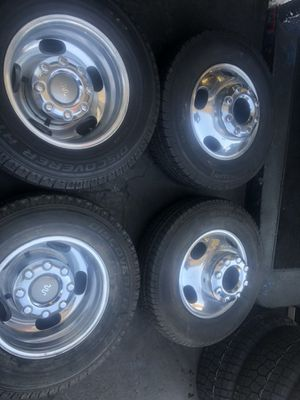 Ford dually rims 17 inch $750 for Sale in East Los Angeles, CA