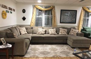 Tan Sectional for Sale in Farmville, VA