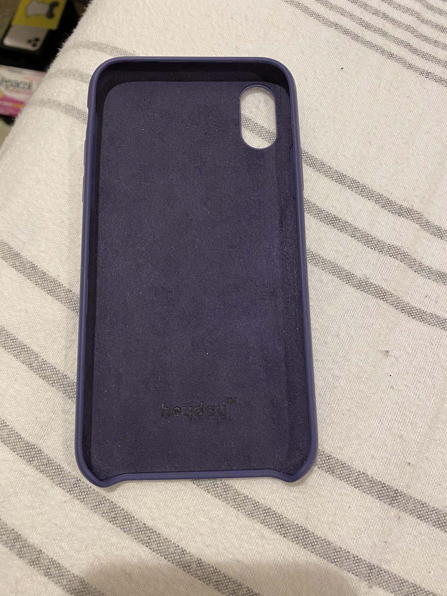 Silicon iPhone X Case