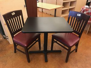 Black Tables and Chairs for Sale in Seattle, WA