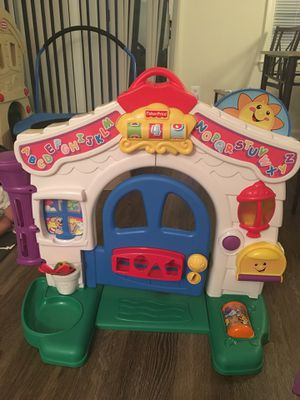 Fisher Price Laugh & Learn Learning Home play set toy for Sale in Alexandria, VA