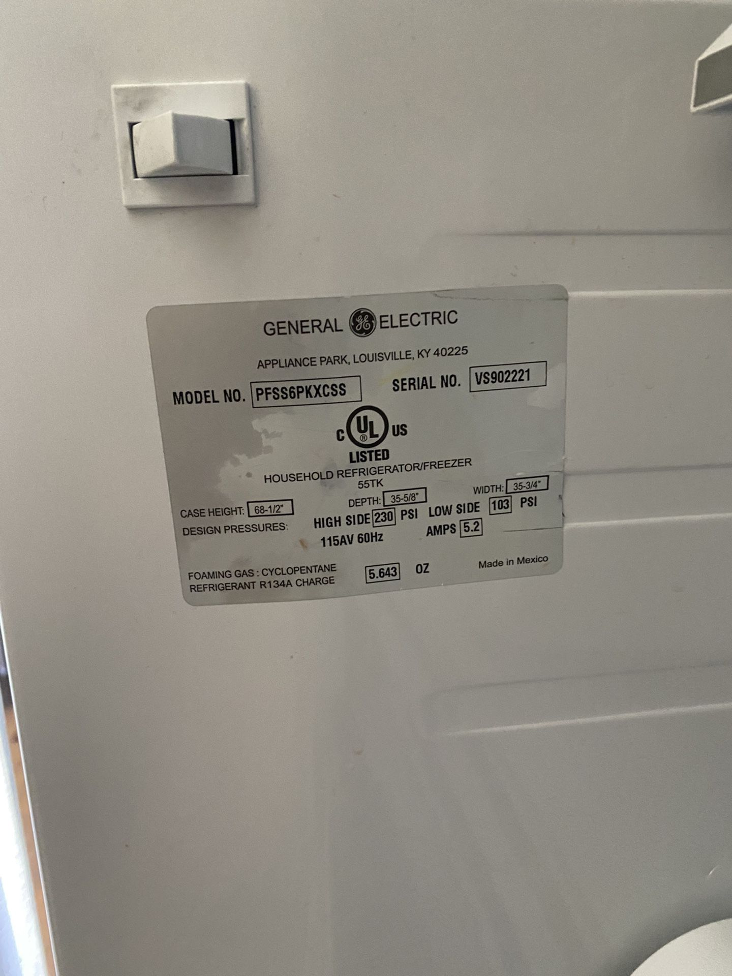 GE Energy Star 25.8 Cu. Ft. French-door Refrigerator