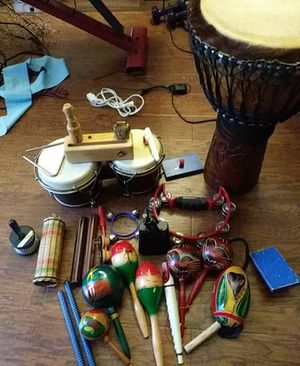Drums percussion instruments. for Sale in Seattle, WA