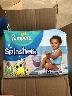 Pampers splashes Thumbnail