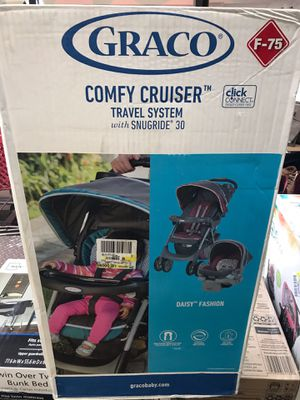 Photo New in box Stroller / matching car seat with base -$99.00
