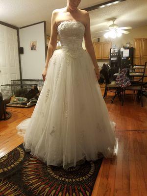 Size 4 Ivory Wedding Dress For In Lakeland Fl
