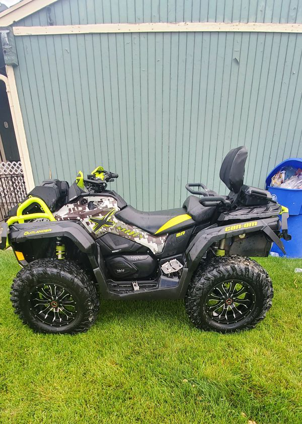2015 can-am outlander 700 miles