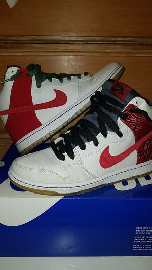 premium selection 2bdb9 3a1ea Nike Dunk high pro SB Cheech and Chong size 9.5 for Sale in Beaverton, OR
