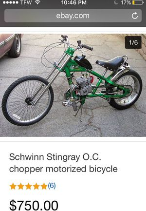 Chopper with Motor 🚲💨💨💨 for Sale in Baltimore, MD