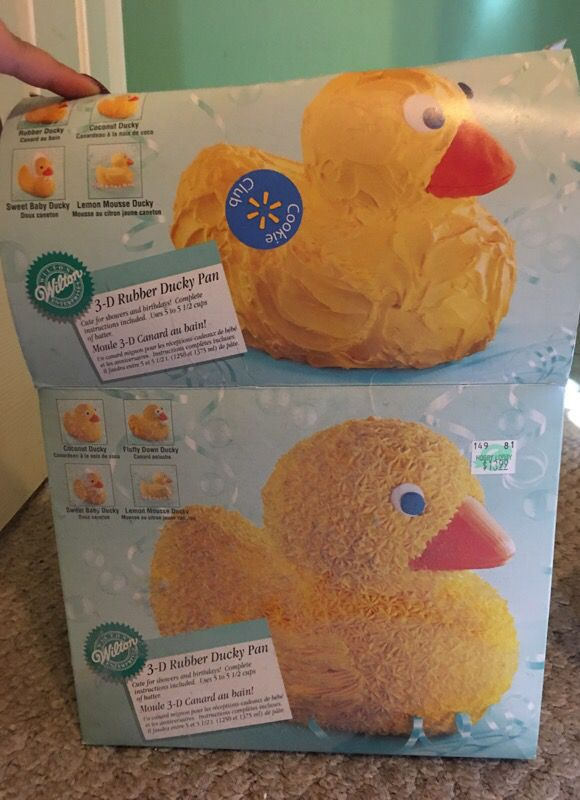 3D Rubber Ducky Cake Pan & Castle Cake Set for Sale in Sherman, TX ...