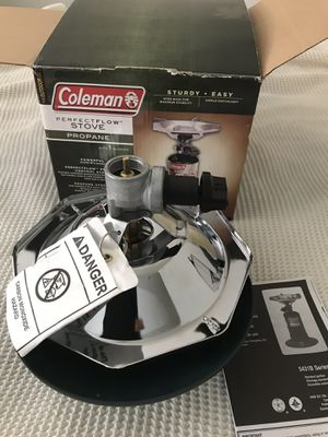 New Coleman PerfectFlow 1-Burner Propane Camp Stove for Sale in Falls Church, VA