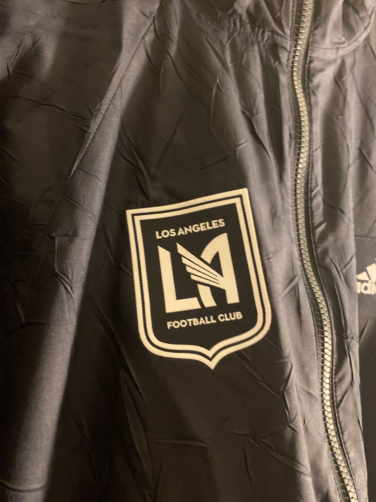 Adidas Los Angeles Football Club Wind Breaker Jacket Retail $120