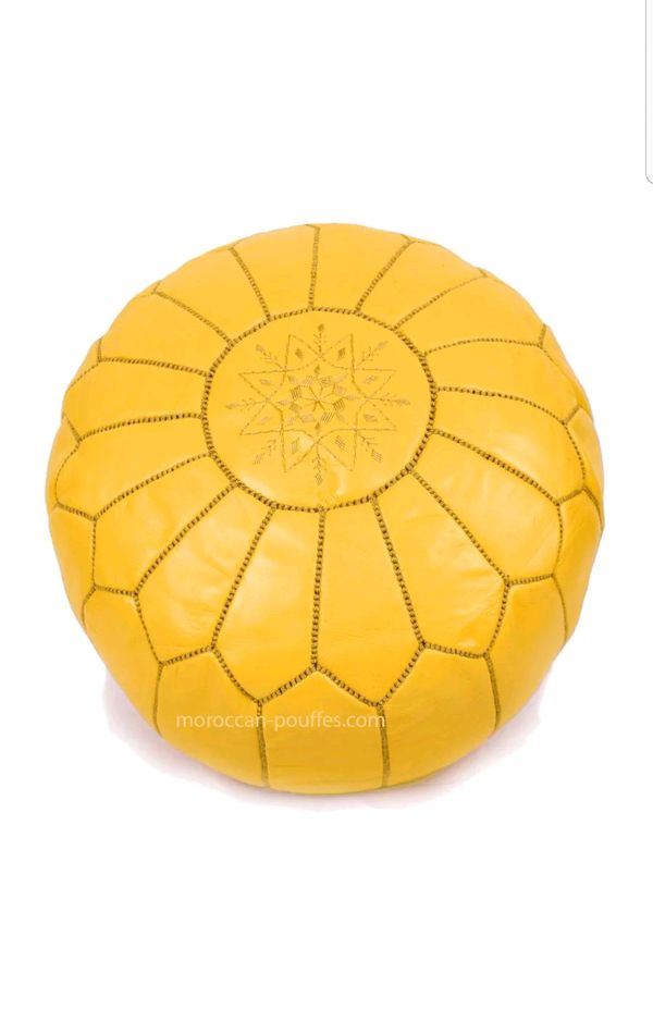 Incredible Moroccan Pouf Pouffe Ottoman Footstool Hassock Tabouret The Best Moroccan Pouf Pouffe For Sale In Calabasas Ca Offerup Creativecarmelina Interior Chair Design Creativecarmelinacom