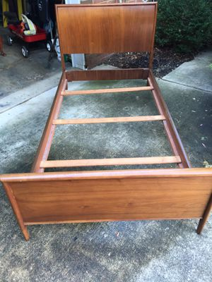 Pair of full size beds teakwood for Sale in Fort Washington, MD