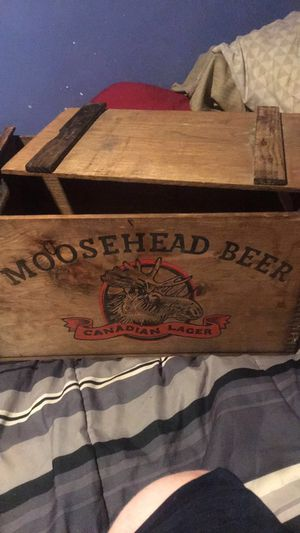 Old wooden beer crate for Sale in St. Louis, MO