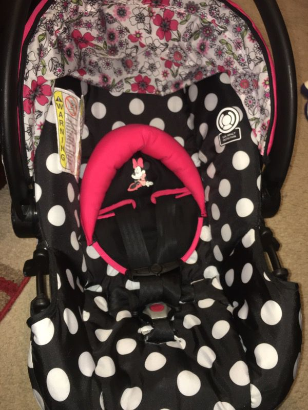 Minnie Mouse Infant Car Seat And Stroller ComboUSED For Sale In
