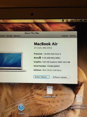 "MacBook Air 13"" for Sale in Washington, DC"