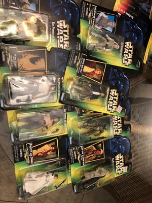 8 Star Wars Action Figures NEW LOWER PRICE for Sale in Orlando, FL