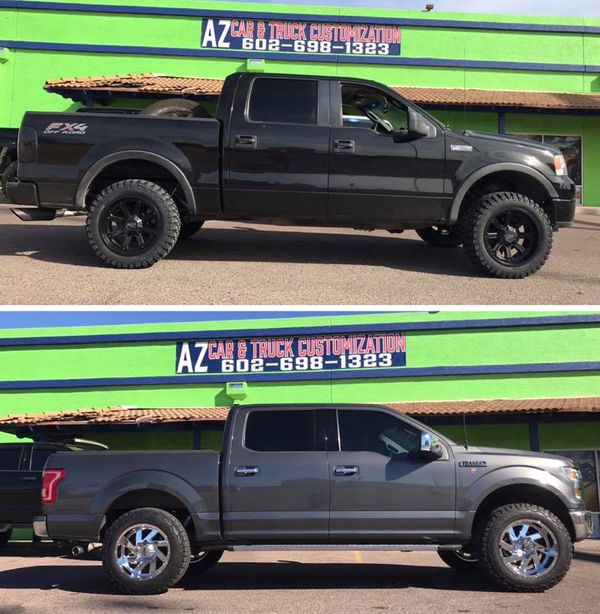 Lift Kit Install  Up Ford F Wd We Finance Auto Parts In Phoenix Az Offerup