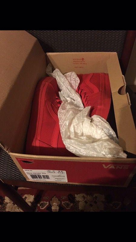 Vans shoes 9.5