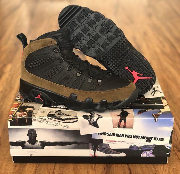 226791fcbb5cf9 Nike Air Jordan Retro 9 IX Boot NRG Olive Black Size 9.5 New DS for ...