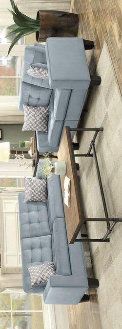 Lantana Gray Living Room Set. FINANCE AVAILABLE Thumbnail