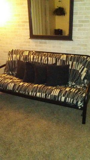 Black Metal Foldable Futon For In Albuquerque Nm