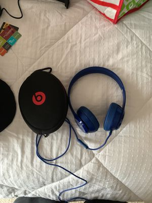 Beats Solo Wired Dark blue for Sale in Frederick, MD