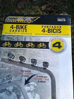 4 bike carrier for Sale in Kearneysville, WV