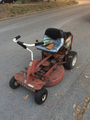 Photo Snapper riding lawn mower
