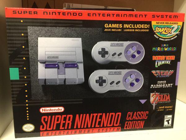 Snes Mini Super Nintendo Entertainment System Classic Edition For Sale In Atherton Ca Offerup