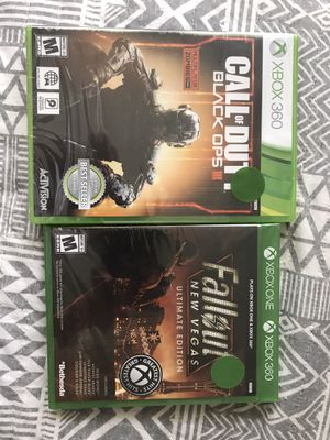 Photo Call of duty black ops 3 Xbox 360 & fallout new Vegas Xbox one - brand new sealed