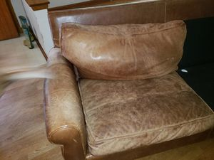 Brown Leather Sofa For In Madison Wi