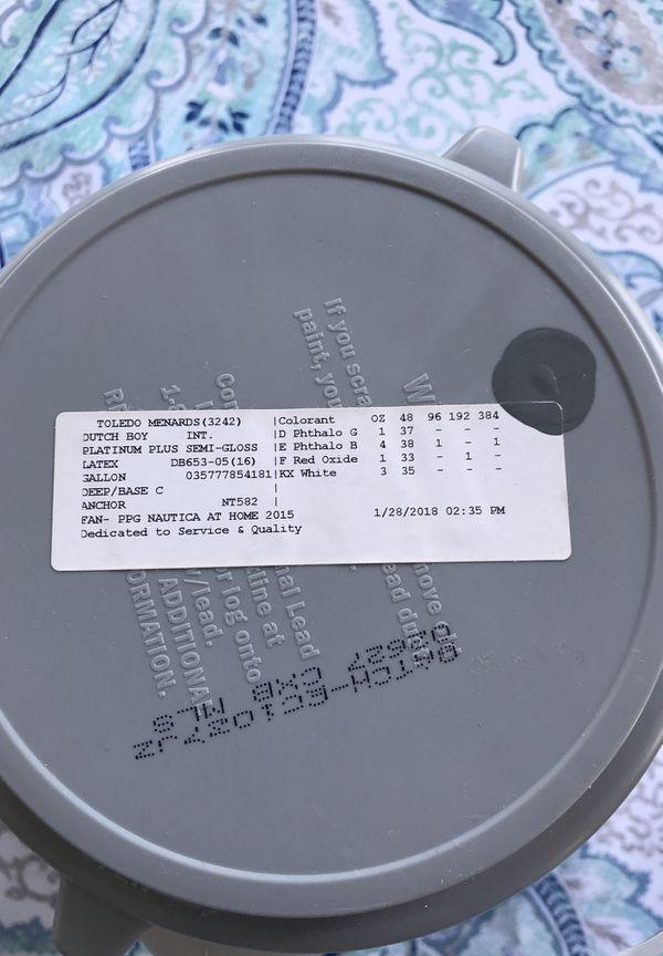 Premium Semi Gloss Paint Nautical Dark Gray For Sale In